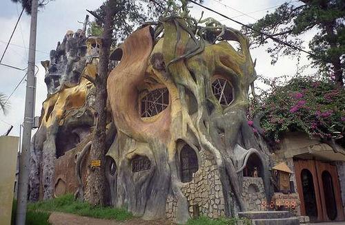 Crazy House Hotel Da Lat Vietnam