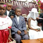 Early marriage, such as this one taking place in Malawi, are the fate 14.2 million girls every year