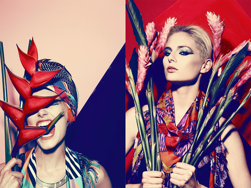 Fashion inspiration. Forget Me Not 'Nefertiti' collection for Spring Summer 2012 influenced by Ancient Egypt