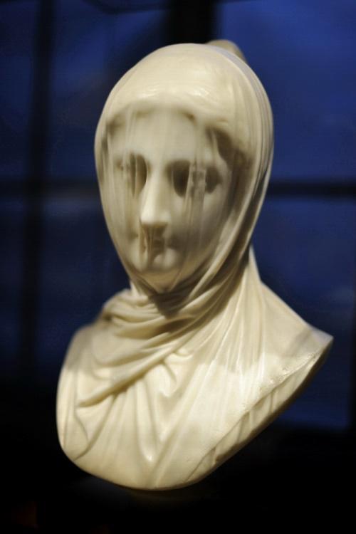 Giuseppe Croff (d. 1869) - The Veiled Nun, 1860