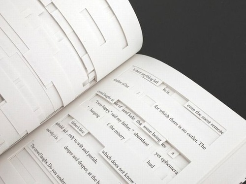 Jonathan Safran Foer's new book tree of codes, pushes book design to new levels in an age of digital publishing