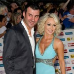 Joe Calzaghe and Kristina