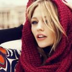 Fashion model Sasha Pivovarova