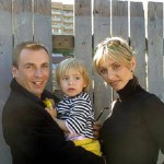 Tatyana Navka, Alexander Zhulin, and their daughter Sasha