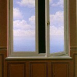 Mysterious paintings by Rene Magritte