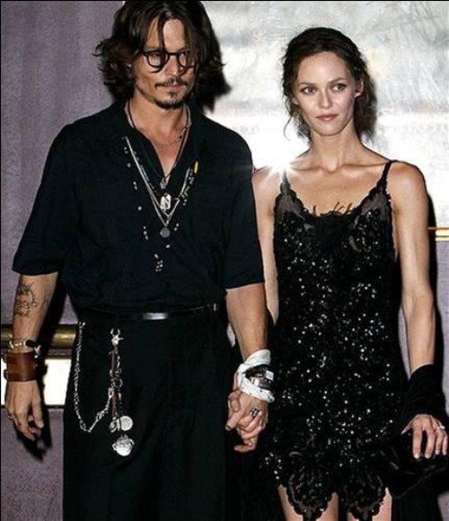 Johnny Depp and Vanessa Paradis have parted
