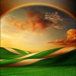 Heavenly arch. Beautiful photo art by Katarina Stefanovich, talented photographer from Belgrade, Serbia