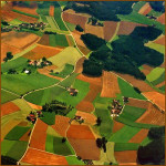 Green patches. Beautiful landscape by Katarina Stefanovich, talented nature photographer from Belgrade, Serbia