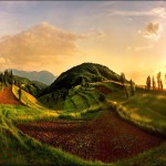 Hills. Work by Katarina Stefanovich, talented nature photographer from Belgrade, Serbia