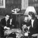 Valentina Sanina and her husband George Shlee