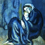 Mother and child by Picasso