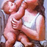 Motherhood. Olga - inspiration for Picasso