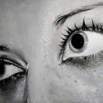 Wet eyes. Hyper realistic paintings by Swedish artist Linnea Strid