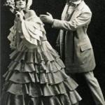 Bulgakov and Fokina in Carnival. 1910
