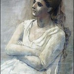 One of hundreds of portraits of Olga