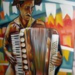 Street art and murals Brazilian artist Eduardo Kobra