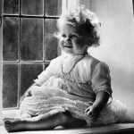 Little girl Elizabeth Alexandra Mary Windsor