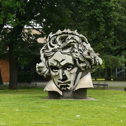 the most unusual monument to Beethoven