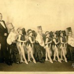 Burlesque acts of the 1920s regularly featured a troupe of midget performers, such as the Hans Kasemann Midgets