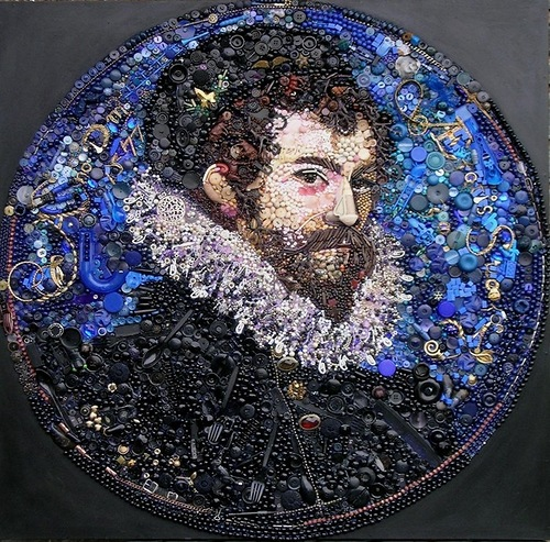 Jane Perkins button art