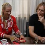 Elena Dementieva and Maxim Afinogenov