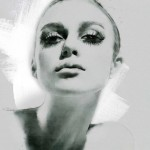 Looks like Fashion icon of 1960s – Twiggy. Digital Illustrations by Ukrainian artist Yuriy Ratush