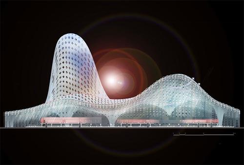 Astana Railway Station project