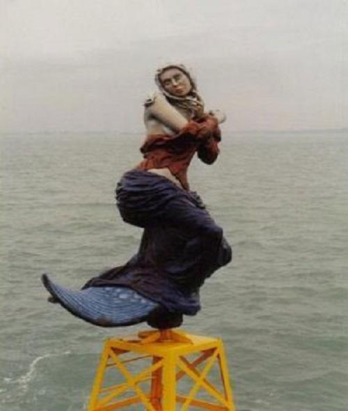 German mermaid buoy