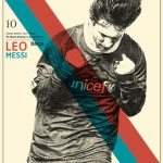 Football legends by Bosnian illustrator Zoran Lucic