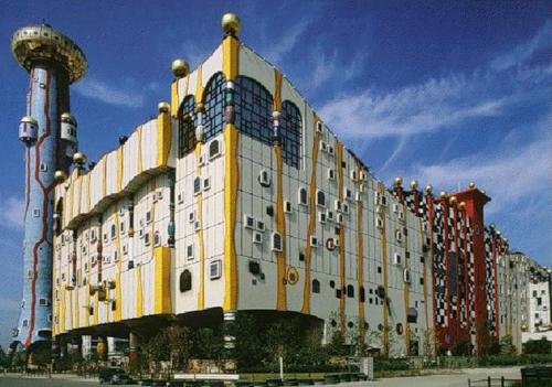 Maishima Incineration Plant, Osaka (Japan), 1997–2000