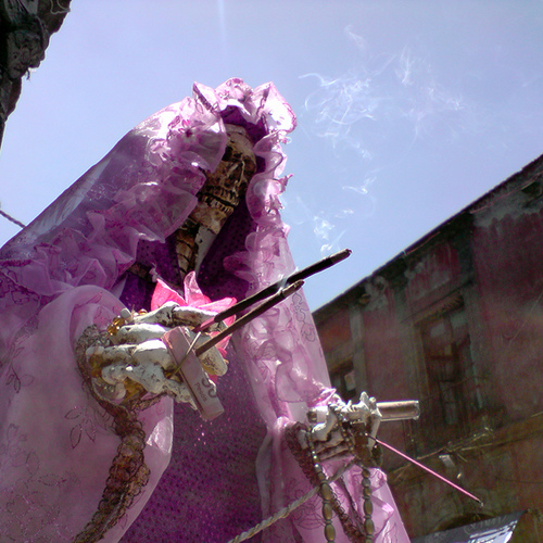 Mexican tradition of Santa Muerte