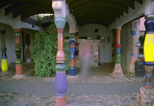 Nyilvános WC, 1998 (Kawakawa)