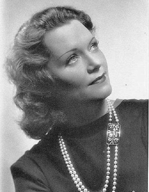 Olga Chekhova - Hitlers favorite film star