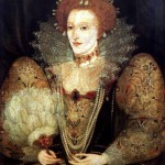Unknown Artist. Portrait of Elizabeth I, 1592. Hardwick House