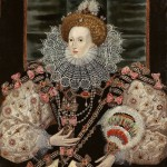 One of the several portraits of Elizabeth I with a fan, 1595. Unknown artist, private collection