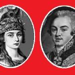 Praskovia Zhemchugova and Count Sheremetyev