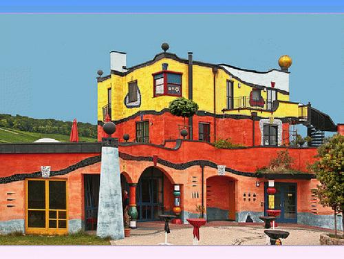 Quixote Winery; Magdeburg Hundertwasserhaus