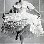 "Tamara Karsavina in the ballet ""Butterfly"" 1914"