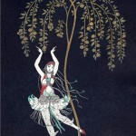 "George Barbier Tamara Karsavina in the ballet ""The Firebird"" 1914"
