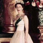 The young queen Elizabeth