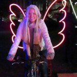 Be an angel. Festival of Light 'Vivid Sydney'