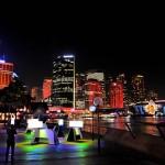 Night Sydney during the festival