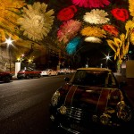 Tunnel Gallery of light flowers