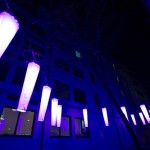 Variety of shapes, colors and light installations