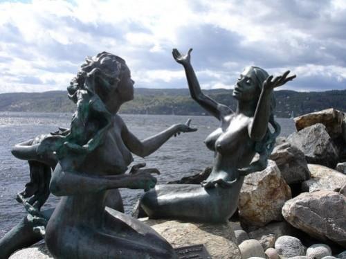 mermaid statue sculpture London