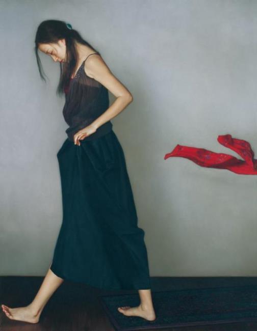 Beauty will save Realistic painting by Li Guijun - Beauty