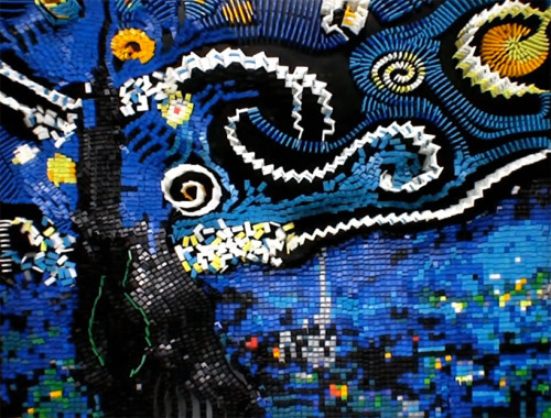 Domino Starry Night
