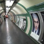 During April 2011 in build up to the show there were over 10 posters of Philip's head designs displayed on the underground and a 1 week digital projection film at Liverpool Street Station.