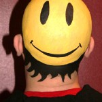 Head art from Philip Levine and body painter Kat Sinclair