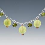 Incredibly realistic glass jewelry by British artist Elizabeth Johnson